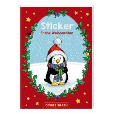 Stickerheft Frohe Weihnachten