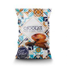 Schokoladendrops - Chocolate Pastel de Nata + Canela