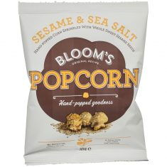 Bloom's Gourmet Popcorn - Sesame and Sea Salt
