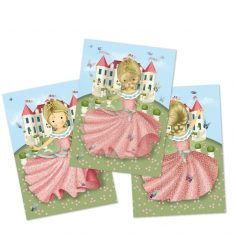 Wackelbild-Postkarte - Prinzessin Floralie
