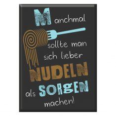 Kühlschrankmagnet - Lieber Nudeln