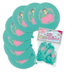 Luftballons - Prinzessin Floralie, 8er-Set
