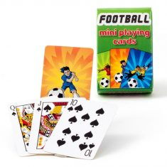 Mini-Spielkarten - Fußball