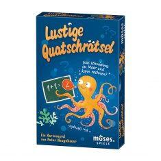 Lustige Quatschrätsel - Kartenspiel