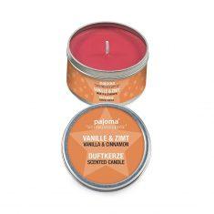 Duftkerze - Vanille-Zimt, in der Dose
