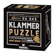 Professor Puzzle - Mini IQ Puzzle, Klammer
