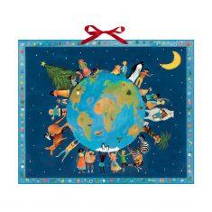 Zettel-Adventskalender - Weihnachten bei den Kindern der Welt