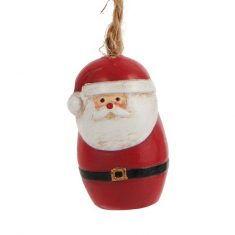 Deko-Weihnachtsmann, 4 cm, hängend
