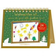 Rahmen-Tisch-Adventskalender - Weihnachten ist...