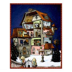 Zettel-Adventskalender - Finde den Weihnachtsschatz