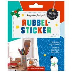 Rubbel-Sticker, weihnachtlich