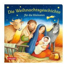 Pappbuch - Die Weihnachtsgeschichte für die Kleinsten