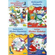 Pixi kreativ - Weihnachtsspaß mit Adventskalender und Stickern