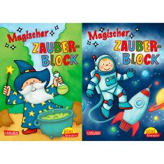 Pixi kreativ - Magischer Zauberblock, Weltraum + Zauberei