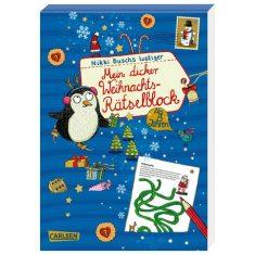 Mein dicker Weihnachtsrästelblock, Nikki Busch