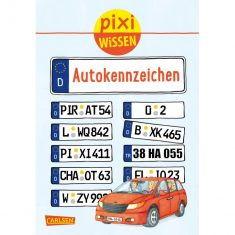 Pixi Wissen - Autokennzeichen