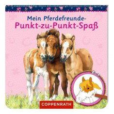 Malblock - Meine Pferdefreunde-Punkt-zu-Punkt-Spaß