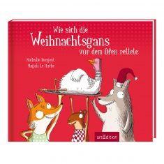 Buch - Wie sich die Weihnachtsgans vor dem Ofen rettete