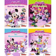 Nelson Mini-Buch - Disney Minnie Maus 1-4