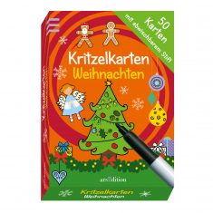 Kritzelkarten Weihnachten