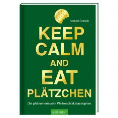 Buch - Keep calm and eat Plätzchen