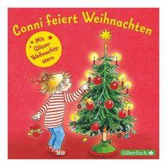 Hörbuch - Conni feiert Weihnachten, mit Glitzer-Weihnachtsstern
