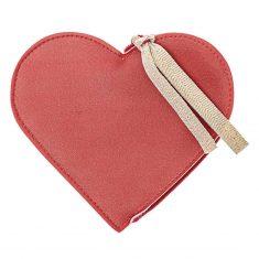 Geldbeutel - Herz, rot