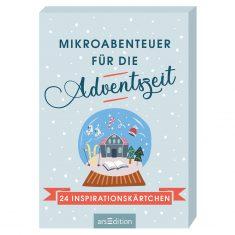 Adventskalender Kartenbox: Mikroabenteuer für die Adventszeit