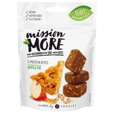 mission MORE - Apple Pie Protein Bites