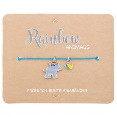 Armband - Rainbow Animals, Elefant
