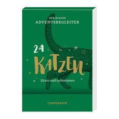 Aufstell-Adventskalender, Der kleine Adventsbegleiter - Katzen