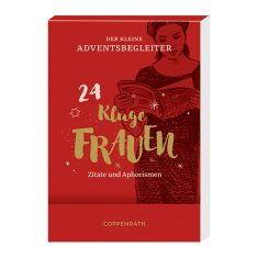 Aufstell-Adventskalender, Der kleine Adventsbegleiter - Kluge Frauen