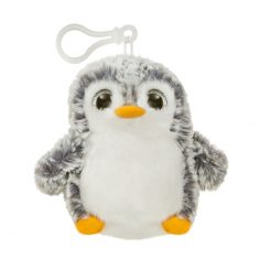 Aurora, Pompom Clip - Pinguin, grau