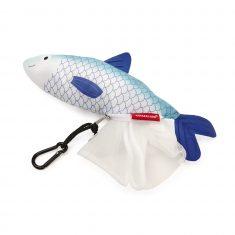 Netzbeutel in Fischtasche, 4er-Set