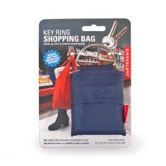 Einkaufstasche am Schlüsselring - Key Ring Shopping Bag, blau