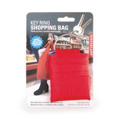 Einkaufstasche am Schlüsselring - Key Ring Shopping Bag, rot