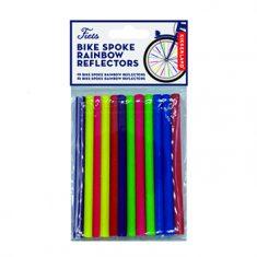 Fahrrad Speichenreflektoren Regenbogen