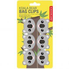 Tütenclips - Koala, 6er-Set