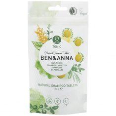 BEN&ANNA Natürliche Schampoo-Tabletten - Tonic