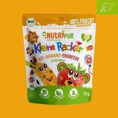 Kleine Racker - Bio-Banane-Erdbeere Scheiben