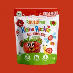 Kleine Racker - Bio-Erdbeere Scheiben