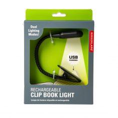 Wiederaufladbares Leselicht - Clip Book Light