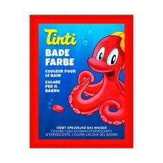 Tinti Badewasserfarbe, rot