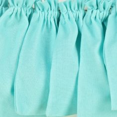Baumwollbeutel mit Baumwollkordel, hellblau, 6er-Set