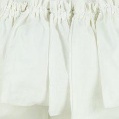 Baumwollbeutel mit Baumwollkordel, weiß, 6er-Set