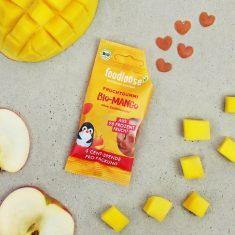 Bio-Fruchtherzen - Apfel/Mango