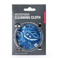 Mikrofaser-Brillenputztuch - Bandana