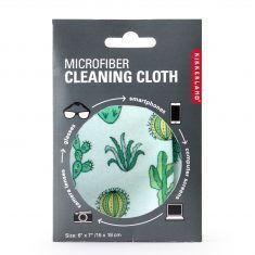 Mikrofaser-Brillenputztuch - Kaktus