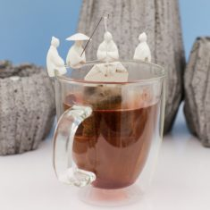 Teehalter - Fisherman, 4er-Set