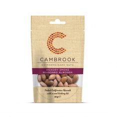 Cambrook - Hickory Smoked Flavour Almonds
